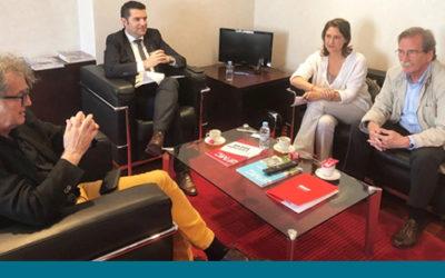 Reunió amb la Federació de Municipis de Catalunya