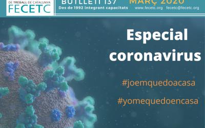 El boletín de marzo, dedicado al coronavirus